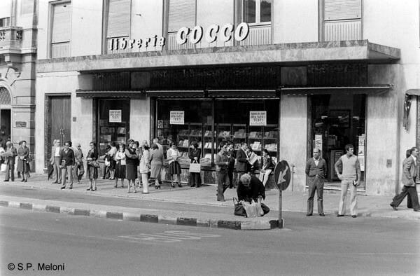 foto storica libreria cocco cagliari